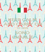 KEEP CALM AND CARRY ON IO NON SONO CHARLIE - Personalised Poster A1 size