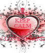 KEEP CALM AND CARRY ON LOVING JANINE - Personalised Poster A1 size