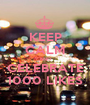 KEEP CALM AND CELEBRATE 1000 LIKES - Personalised Poster A1 size