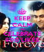 KEEP CALM AND CELEBRATE 600 LIKES - Personalised Poster A1 size