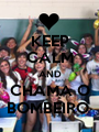 KEEP CALM AND CHAMA O BOMBEIRO  - Personalised Poster A1 size