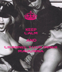 KEEP CALM AND CHANNEL YOUR INNER MADONNA - Personalised Poster A1 size