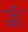 KEEP CALM AND CHEER NOTTS FOREST - Personalised Poster A1 size