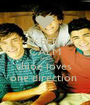 KEEP CALM AND chloe loves  one direction  - Personalised Poster A1 size