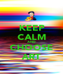 KEEP CALM AND CHOOSE ART - Personalised Poster A1 size