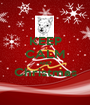 KEEP CALM AND Christmas  - Personalised Poster A1 size