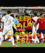 KEEP CALM AND CI PENSA  CR7 - Personalised Poster A1 size