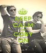 KEEP CALM AND COBY ON - Personalised Poster A1 size