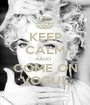 KEEP CALM AND COME ON VOGUE - Personalised Poster A1 size