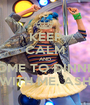 KEEP CALM AND COME TO DINNER WITH ME, ASH - Personalised Poster A1 size