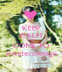 KEEP CALM AND COME TO visteteconmigo - Personalised Poster A1 size