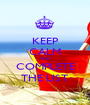 KEEP CALM AND COMPLETE THE LIST - Personalised Poster A1 size