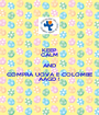 KEEP CALM AND COMPRA UOVA E COLOMBE AAGD ! - Personalised Poster A1 size