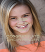 KEEP CALM AND CONGRATULATE TAYLAR HENDER - Personalised Poster A1 size