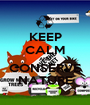KEEP CALM AND CONSERVE NATURE - Personalised Poster A1 size