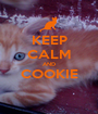 KEEP CALM AND COOKIE  - Personalised Poster A1 size