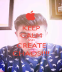 KEEP CALM AND CREATE CHAOS!!!! - Personalised Poster A1 size
