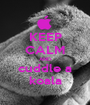 KEEP CALM AND cuddle a koala - Personalised Poster A1 size