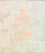 KEEP CALM AND CURE TSC  - Personalised Poster A1 size