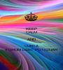 KEEP CALM AND CURTA FORUM LGBT POTIGUAR - Personalised Poster A1 size