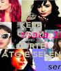 KEEP CALM AND CURTE DEMI LOVATO E SELENA GOMEZ - Personalised Poster A1 size