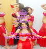 KEEP CALM AND Dance with WARDA BAIDA - Personalised Poster A1 size