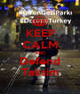KEEP CALM AND Defend Taksim - Personalised Poster A1 size