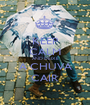 KEEP CALM AND DEIXE A CHUVA CAIR - Personalised Poster A1 size