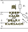 KEEP CALM AND DELAY KURSACH - Personalised Poster A1 size