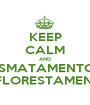 KEEP CALM AND DESMATAMENTO E  REFLORESTAMENTO - Personalised Poster A1 size