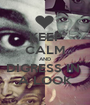 KEEP CALM AND DIGRESS IN  A LOOK - Personalised Poster A1 size