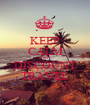 KEEP CALM AND DISCOUNT TRAVEL - Personalised Poster A1 size