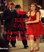 KEEP CALM AND diventa fan di Expelliarmus - Personalised Poster A1 size