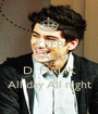 KEEP CALM AND DJ MALIK All day All night - Personalised Poster A1 size
