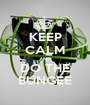 KEEP CALM AND DO THE BUNGEE - Personalised Poster A1 size