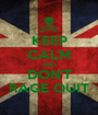 KEEP CALM AND DON'T RAGE QUIT - Personalised Poster A1 size