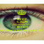KEEP CALM and don't stare at me  BITCH cause does like u are not part of my level - Personalised Poster A1 size