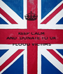 KEEP CALM AND  DONATE TO UK   FLOOD VICTIMS  - Personalised Poster A1 size