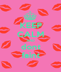 KEEP CALM AND dont faint - Personalised Poster A1 size