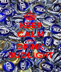 KEEP CALM AND DRINK BUDLIGHT - Personalised Poster A1 size