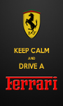 KEEP CALM AND DRIVE A  - Personalised Poster A1 size