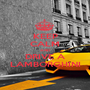KEEP CALM AND DRIVE A LAMBORGHINI - Personalised Poster A1 size