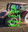 KEEP CALM AND  drive a valtra - Personalised Poster A1 size