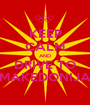 KEEP CALM AND DRIVE TO MAKEDONIJA - Personalised Poster A1 size