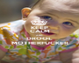 KEEP CALM AND DROOL MOTHERFUCKER - Personalised Poster A1 size
