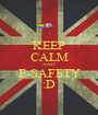 KEEP CALM AND E-SAFETY :D - Personalised Poster A1 size