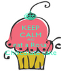 KEEP CALM AND eat a Rosa  Chocolate cake - Personalised Poster A1 size