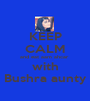 KEEP CALM and eat aam ahcar  with Bushra aunty - Personalised Poster A1 size