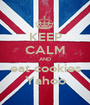 KEEP CALM AND eat cookies Yahoo - Personalised Poster A1 size