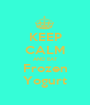 KEEP CALM AND EAT Frozen Yogurt - Personalised Poster A1 size